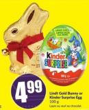 Lindt Gold Bunny or Kinder Surprise Egg 100 g