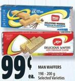 Man Waffers 198 - 200 g