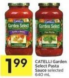 Catelli Garden Select Pasta Sauce Selected 640 ml