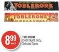 Toblerone Chocolate 360 g