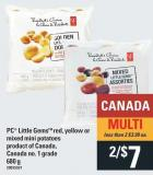 PC Little Gemstm Red - Yellow Or Mixed Mini Potatoes - 680 g