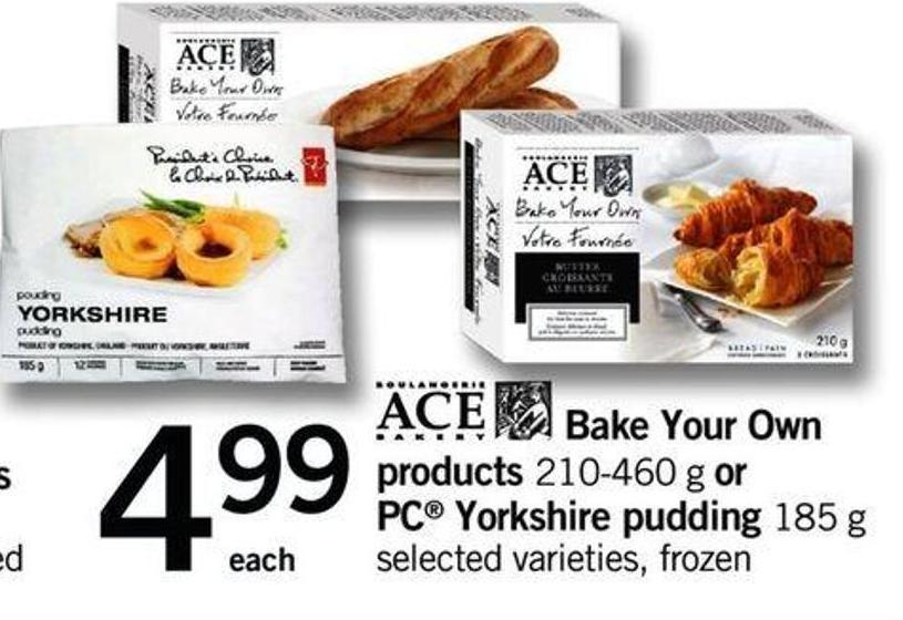 Bake Your Own Products - 210-460 G Or PC Yorkshire Pudding - 185 G