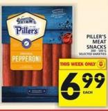 Piller's Meat Snacks 300 - 500 G