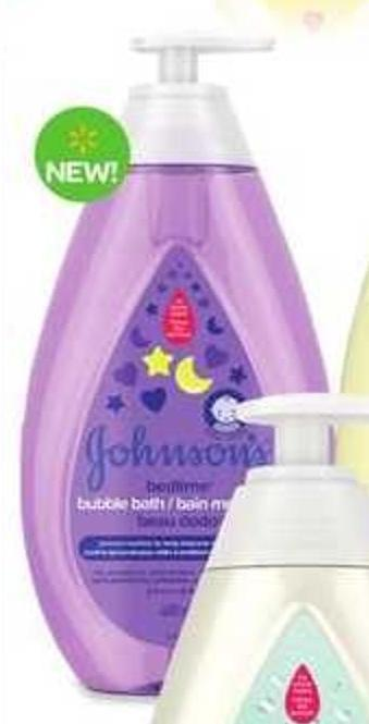 Johnson's Bedtime Bubble Bath