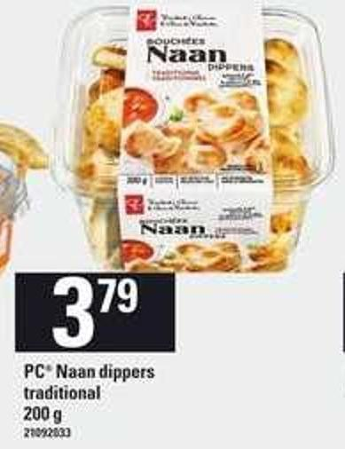PC Naan Dippers Traditional