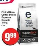 Ethical Bean Coffee Sweet Espresso Organic 340 g