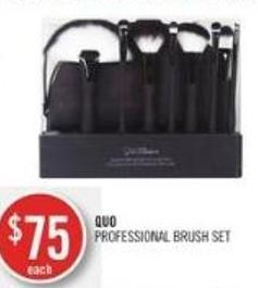 Quo Professional Brush Set