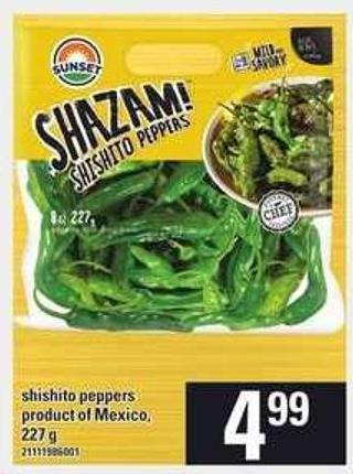 Shishito Peppers - 227 g