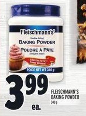 Fleischmann's Baking Powder