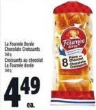 La Fourn'e Dor'e Chocolate Croissants 360 g