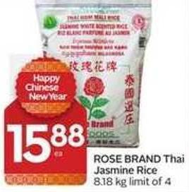 Rose Brand Thai Jasmine Rice