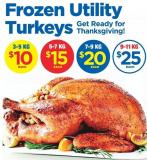 Frozen Utility Turkeys - 9-11 Kg