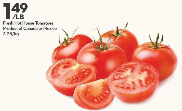 Fresh Hot House Tomatoes