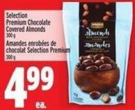 Selection Premium Chocolate Covered Almonds 300 g