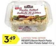 Reser's Bacon Ranch Pasta or Red Skin Potato Salad