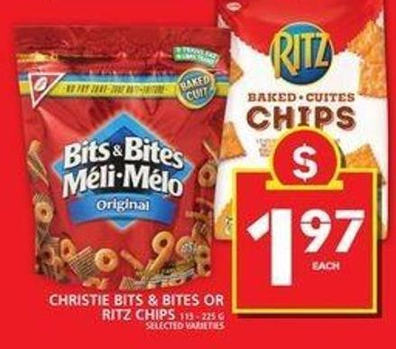 Christie Bits & Bites Or Ritz Chips