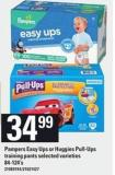 Pampers Easy Ups Or Huggies Pull-ups Training Pants - 84-124's