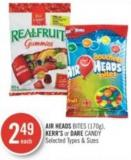 Air Heads Bites (170g) - Kerr's or Dare Candy