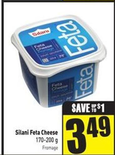 Silani Feta Cheese 170-200 g
