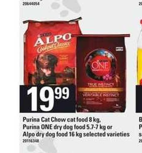 Purina Cat Chow Cat Food 8 Kg - Purina One Dry Dog Food 5.7-7 Kg Or Alpo Dry Dog Food 16 Kg