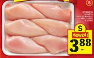 Boneless Skinless Chicken Breast Family Pack