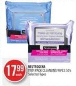 Neutrogena Twin Pack Cleansing Wipes