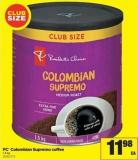 PC Colombian Supremo Coffee - 1.3 Kg