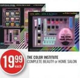 The Color Institute Complete Beauty or Home Salon