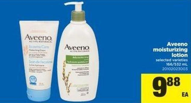 Aveeno Moisturizing Lotion - 166/532 Ml