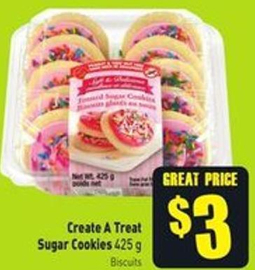 Create A Treat Sugar Cookies