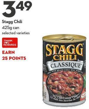 Stagg Chili 425g Can
