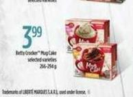 Betty Crocker Mug Cake - 266/294 g