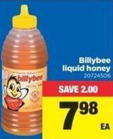 Billybee Liquid Honey