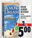 Dream Almond Beverage 946 ml