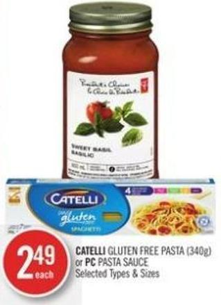 Catelli Gluten Free Pasta (340g) or PC