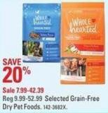 Wholehearted Selected Grain-free Dry Pet Foods