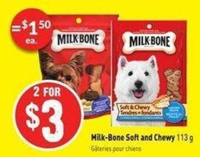 Milk-bone Soft and Chewy 113 g