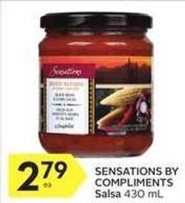 Sensations By Compliments Salsa