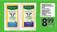 Thornloe Grass Fed Cheddar Or Mozzarella Cheese | Fromage Cheddar Ou Mozzarella Nourries À L'herbe Thornloe