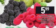 Driscoll's Raspberries Or Sweet Karoline Blackberries - 340 G