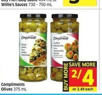 Compliments Olives