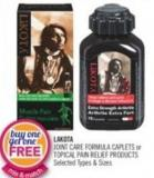 Lakota Joint Care Formula Caplets Or Topical Pain Relief Products