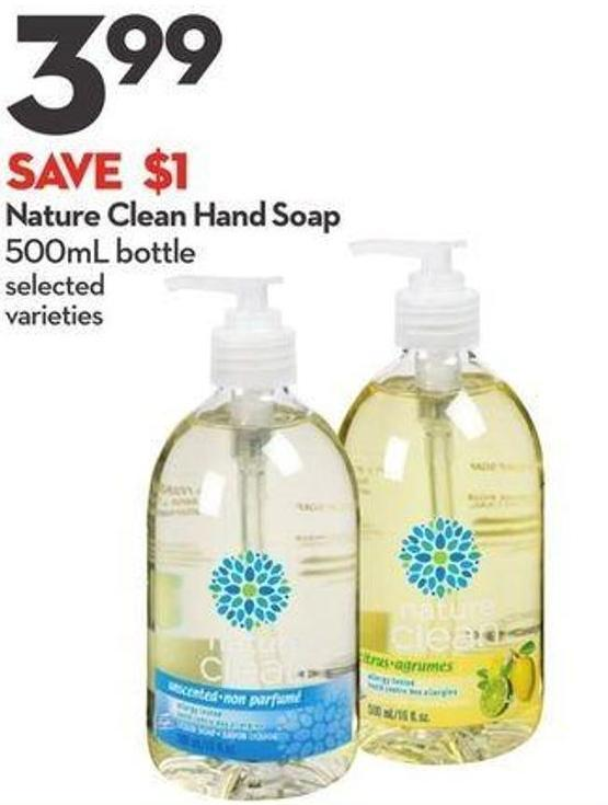 Nature Clean Hand Soap