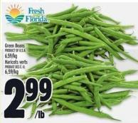 Green Beans Product of U.S.A.