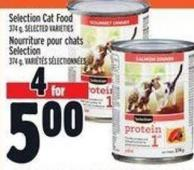Selection Cat Food 374 g