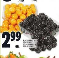 Blackberries 170 g Or Golden Berries 200 g