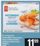 PC Or Free From Chicken Fillets - Turkey Breast Strips Or Chicken Tenders - 750/907 g
