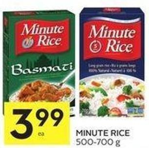 Minute Rice 500-700 g