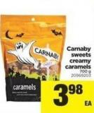 Carnaby Sweets Creamy Caramels - 700 g