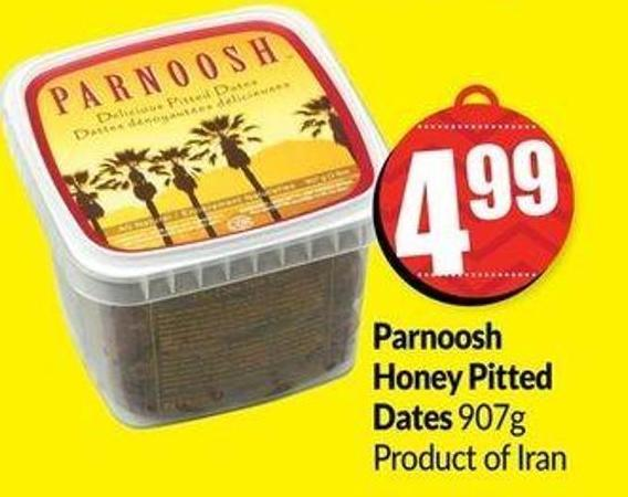 Parnoosh Honey Pitted Dates 907g